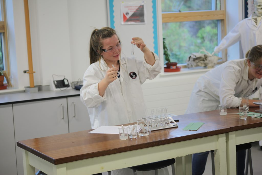 Practical work is an important part of A-Level biology at CSMS