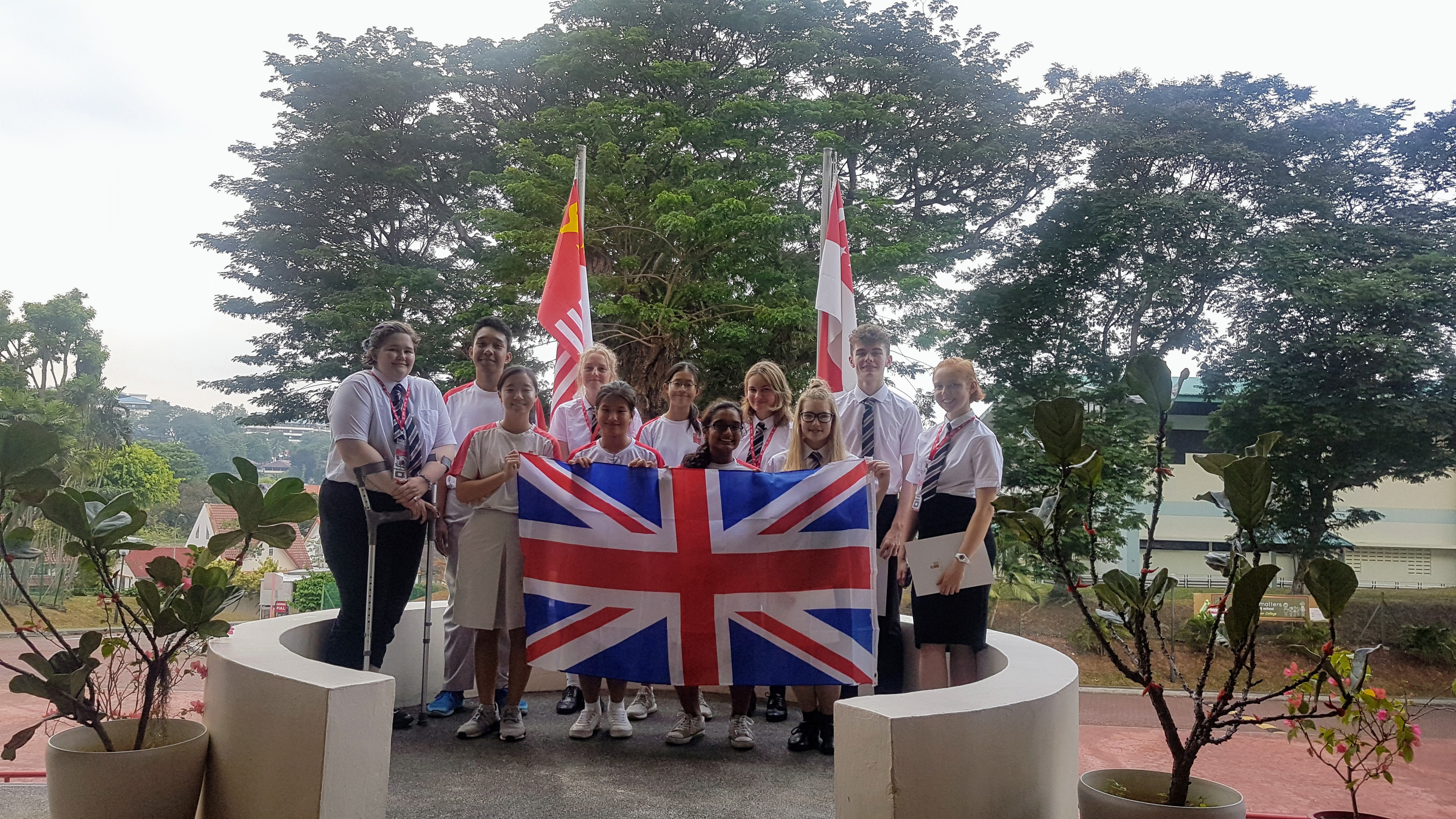 CSMS students travel to Singapore for research exchange
