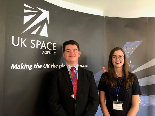 CSMS Students Present to the European Space Agency