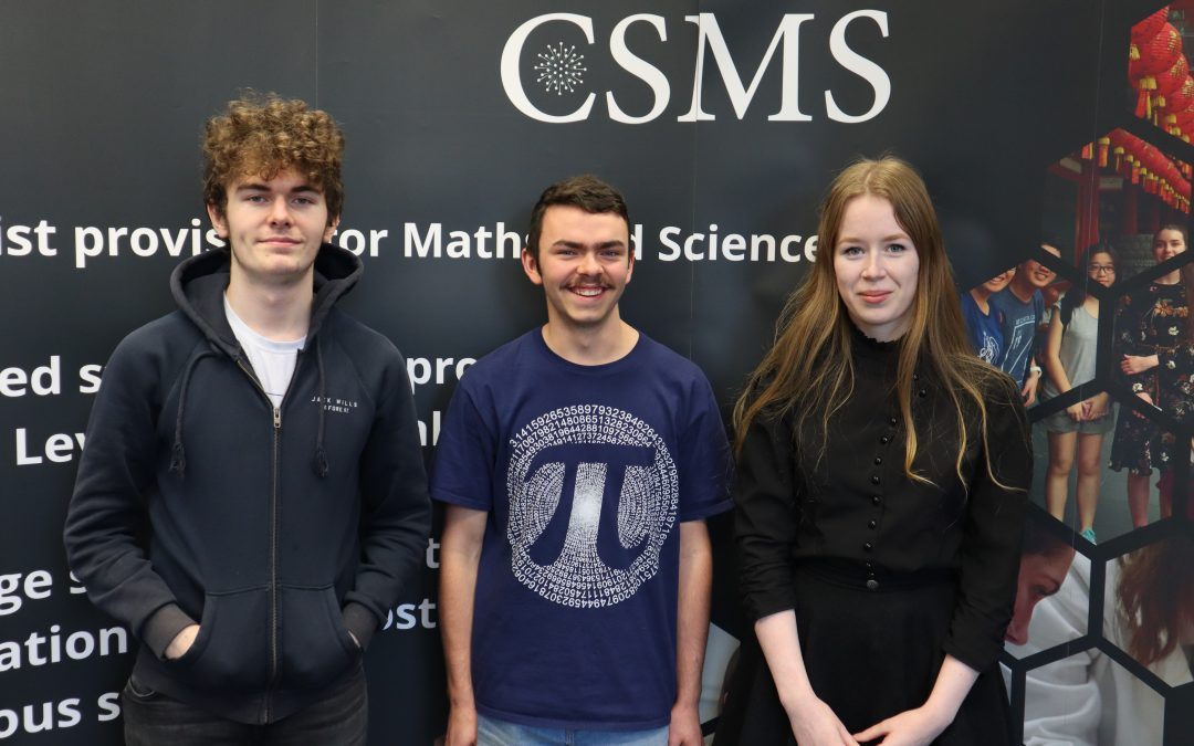 CSMS students show off their mathematical skills in Singapore International Mathematics Challenge